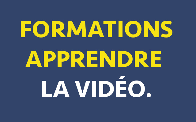 formation apprendre montage vidéo