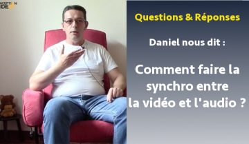 synchro audio son video