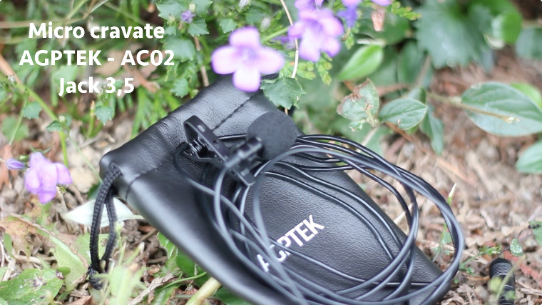 Micro cravate AGPTEK AC02