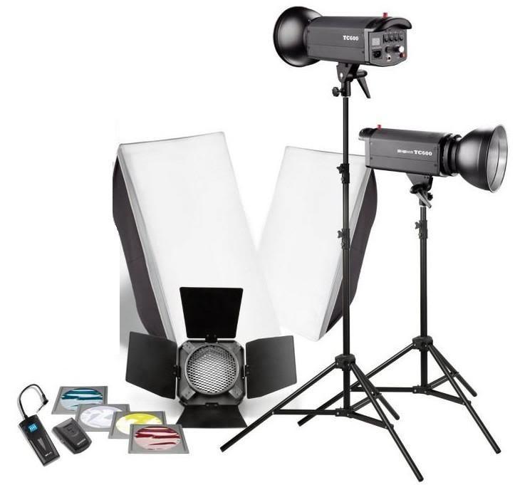 éclairage studio vidéo