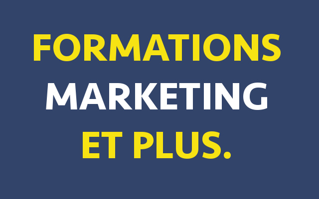 formation apprendre marketing