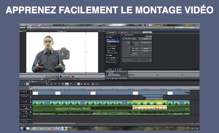 Formation courte de montage vidéo