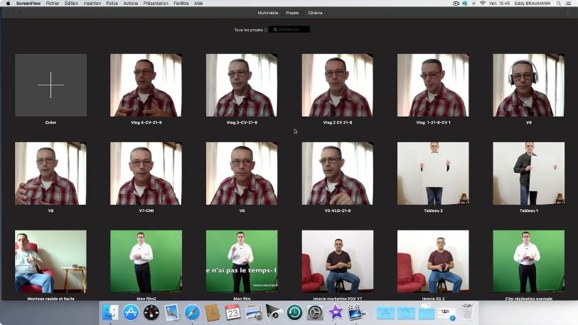 faire un montage video sur mac