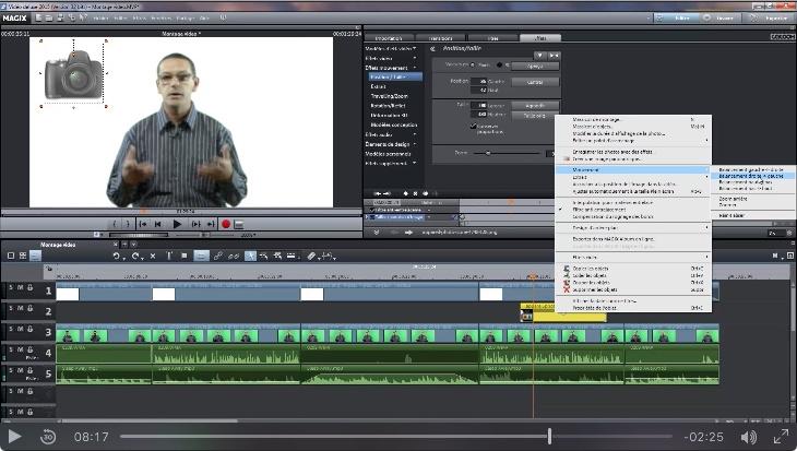 apprendre le montage video