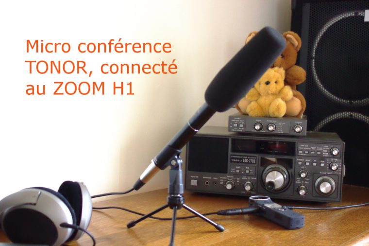 Micro conférence TONOR cardoïde par Eddy Braumann conceptionvideo.fr