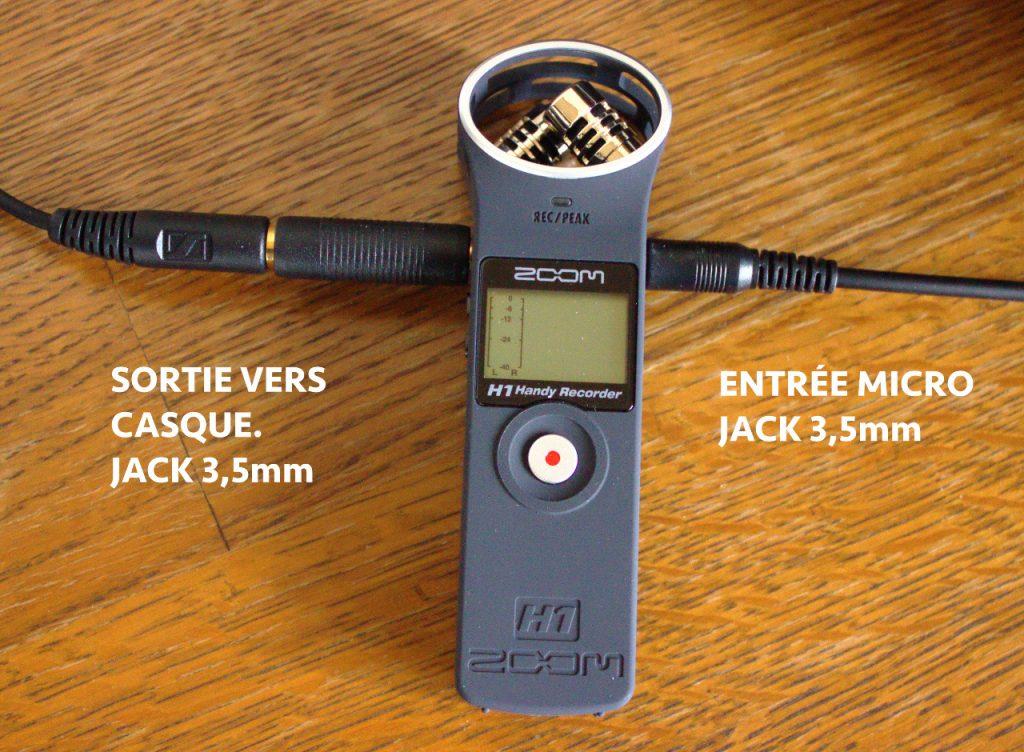 Enregistreur numérique dictaphone ZOOM H1 par Eddy Braumann conceptionvideo.fr