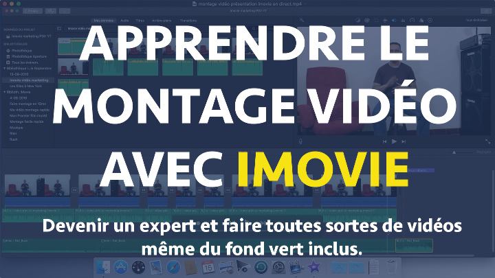 apprendre montage video imovie