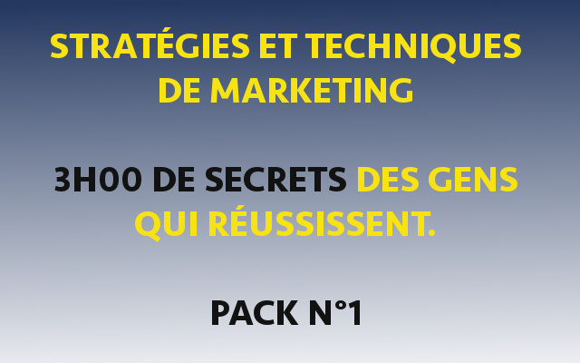 Technique et stratégie marketing