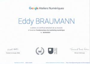 Fondamentaux du marketing numérique via Google